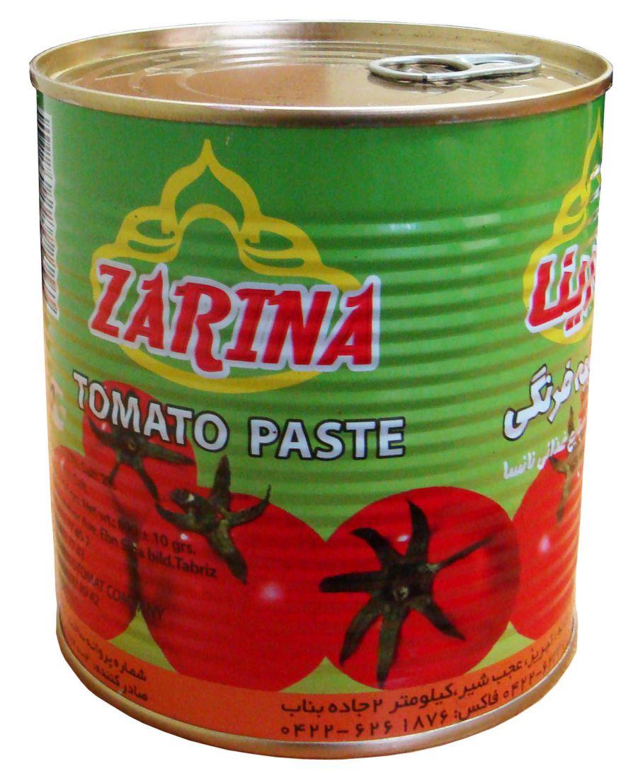 Томатная паста Зарина (Zarina, Иран) — 800 гр
