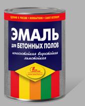 Эмаль для Бетонных Полов Новбытхим 3л Износостойкая, Полимерная
