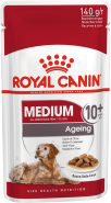 Royal Canin Medium Ageing 10+ соус пауч д/соб 140 г