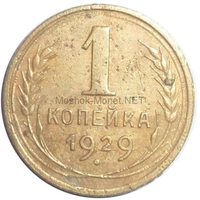 1 копейка 1929 года # 3