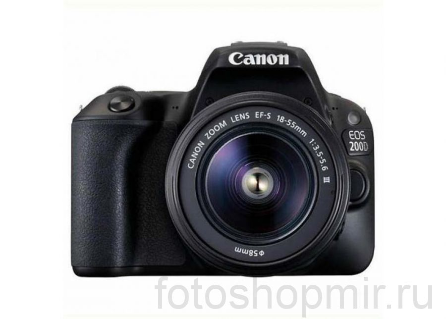 Canon EOS 200D Kit 18-55mm lll