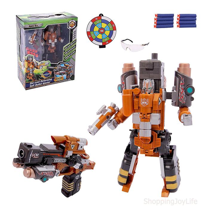 Робот-бластер Kaineng Armored X-man