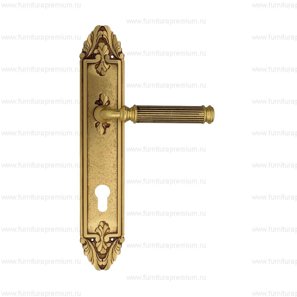 Ручка на планке Venezia Mosca PL90 CYL