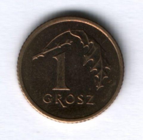 1 грош 2001 года Польша