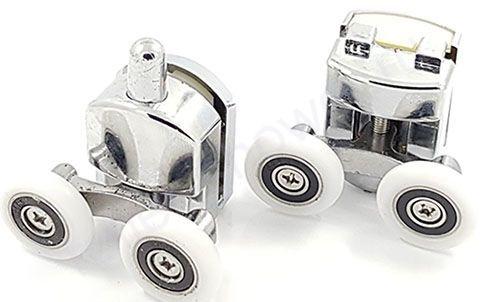 Ролик для душевой кабины VH030-2 (комплект 8шт) Диаметр колеса (от 18,6 до 28мм)