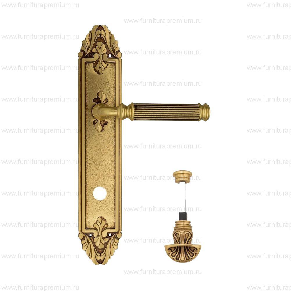 Ручка на планке Venezia Mosca PL90 WC-4