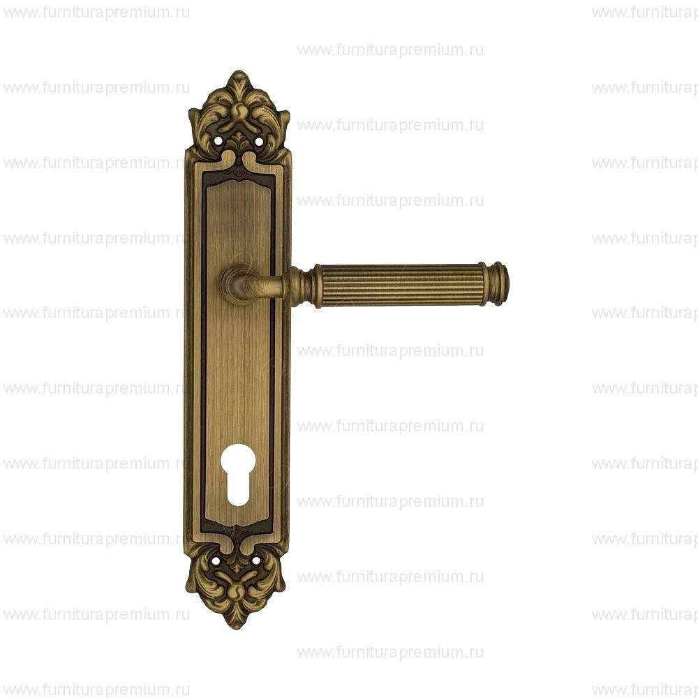 Ручка на планке Venezia Mosca PL96 CYL