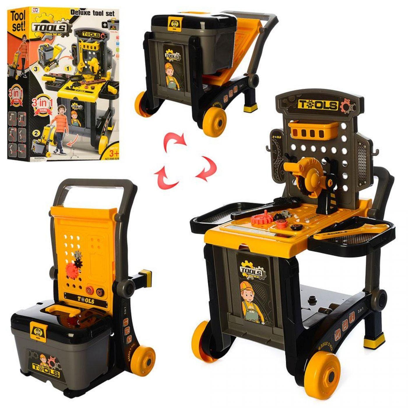 008-928  Набор детских инструментов в чемодане Tool Set