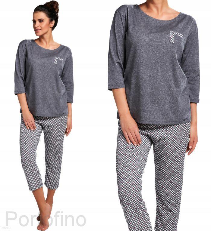 602-177 женская пижама длин.рукав Cornette