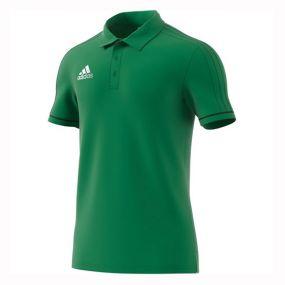 Футболка-поло adidas Tiro 17 Polo зелёная