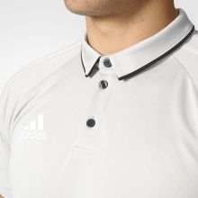 Футболка-поло adidas Tiro 17 Polo серая