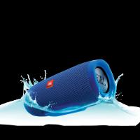 Портативная bluetooth колонка JBL Charge 3 синяя