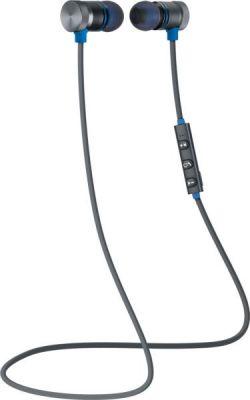 Беспроводная гарнитура OutFit B710 черный+синий, Bluetooth