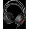 Игровая гарнитура Scylla черный+красный, кабель 2 м