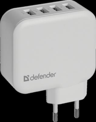 Сетевой адаптер UPA-60 4 порта USB, 5V / 6.2А