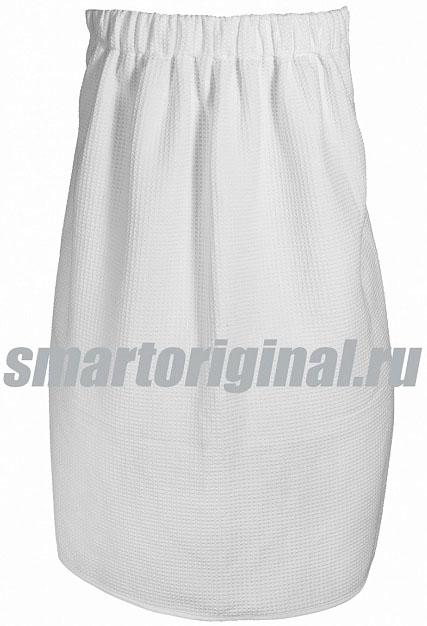 Smart Microfiber Полотенце вафельное для сауны белое