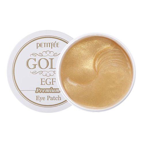 [PETITFEE] Набор патчей для век ПРЕМИУМ ЗОЛОТО/EGF Premium Gold & EGF Hydrogel Eye Patch, 60 шт