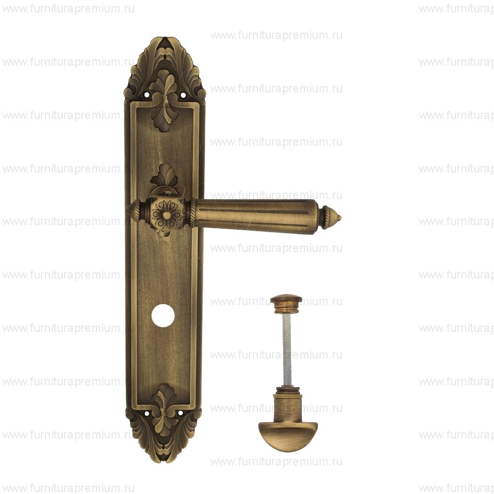 Ручка на планке Venezia Castello PL90 WC-2