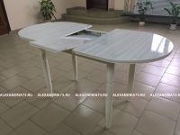 Стол раздвижной-радиусный (пластик)