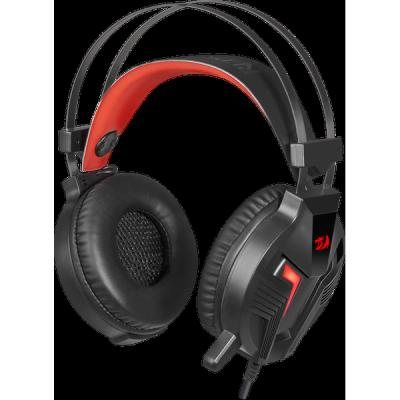 Игровая гарнитура Memecoleous черный+красный, кабель 1.8 м