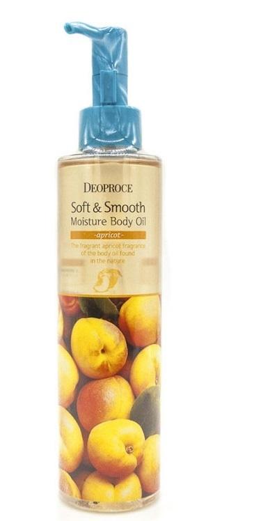 Масло для тела DEOPROCE SOFT & SMOOTH MOISTURE BODY OIL 200мл