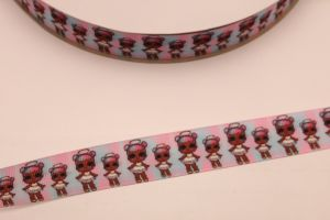 `Лента репсовая с рисунком, ширина 22 мм, Р-ЛР5674