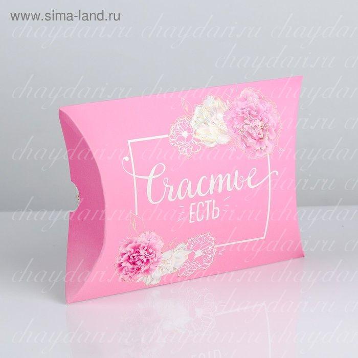 """Коробка с чаем и сладостями """"Женское счастье"""""""