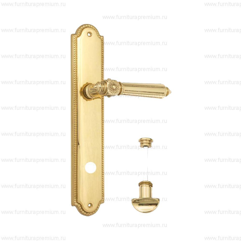 Ручка на планке Venezia Castello PL98 WC-2