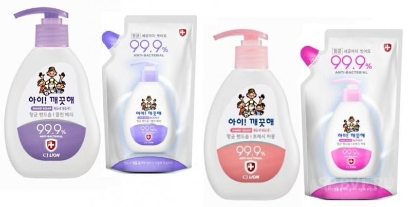 Жидкое мыло для рук LION  Ai - Kekute с антибактериальным эффектом