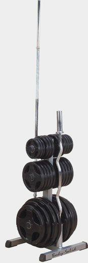 Подставка для олимпийских дисков (51 мм) и грифов (50 мм) Body Solid GOWT