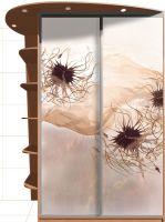 Наклейка на шкаф - Пролетая над миром магазин Интерьерные наклейки