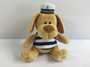 Собака морячок, 15см