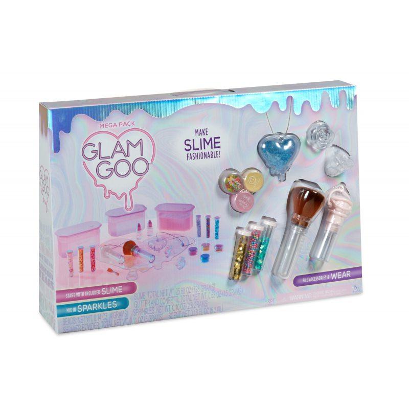 Набор слайм-аксессуаров GLAM GOO Mega Pack 554844
