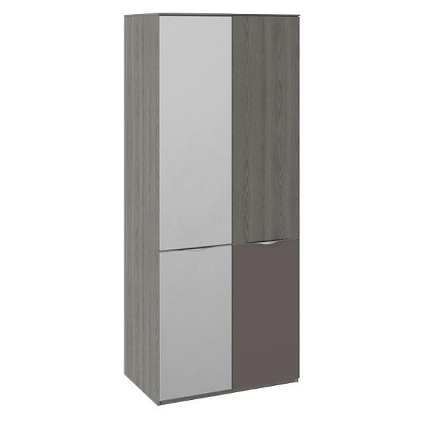 Шкаф для одежды «Либерти» (с 1ой зеркальной дверью и 1 с ЛКП)