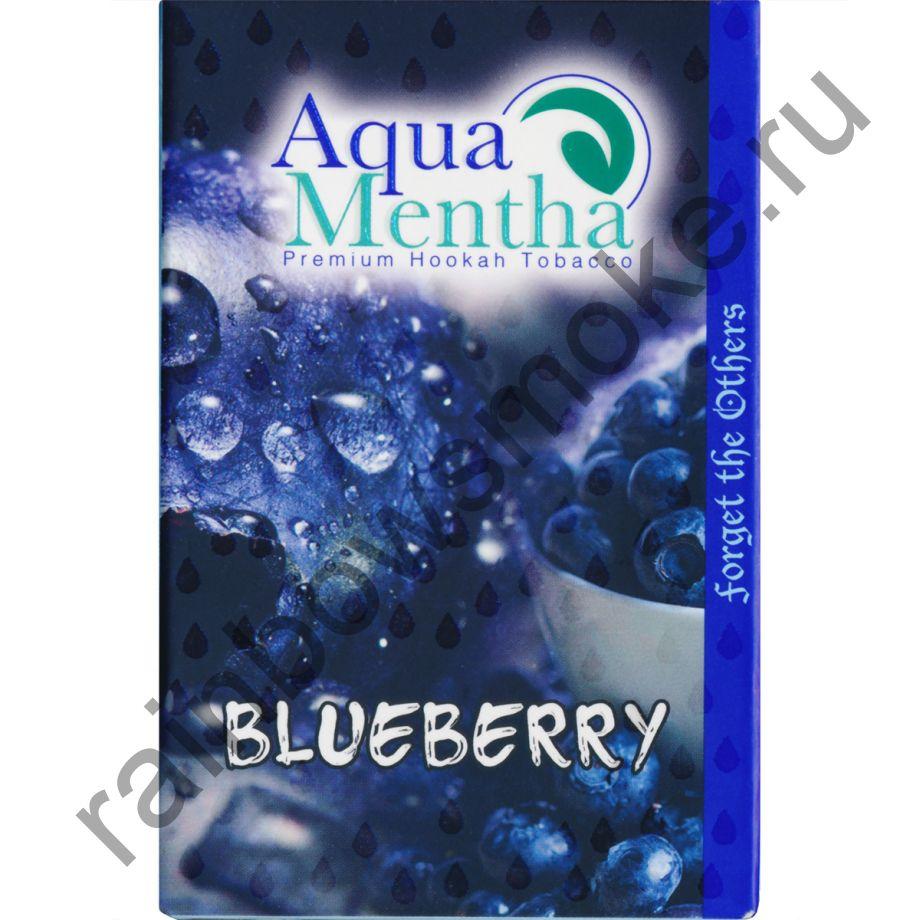 Aqua Mentha 50 гр - Aqua Blueberry (Ледяная Черника)
