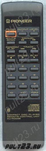 PIONEER CU-PD046, PWW1061, PD-201, PD-202, PD-203, PD-204, PD-5700, PD-S501, PD-S504, PD-S505, PVD-0617