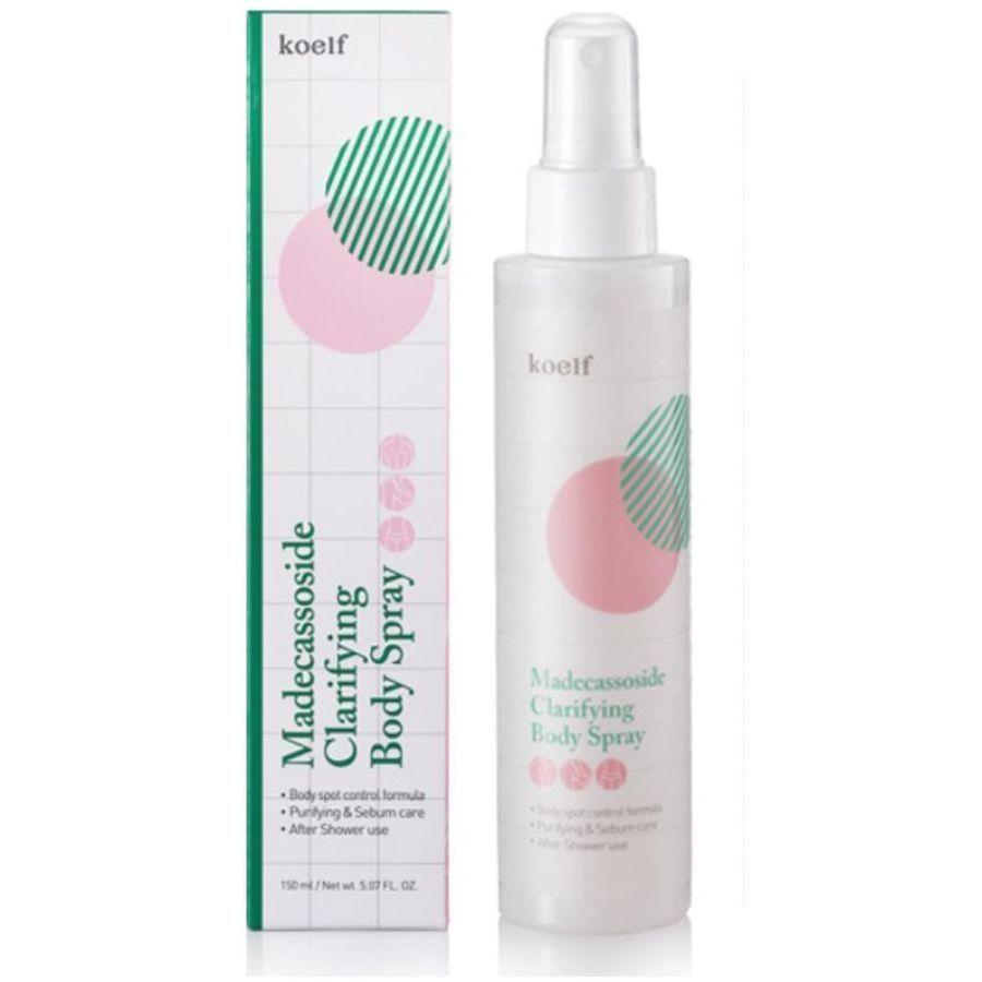 [KOELF] Лечебный спрей для тела Madecassoside Clarifying Body Spray