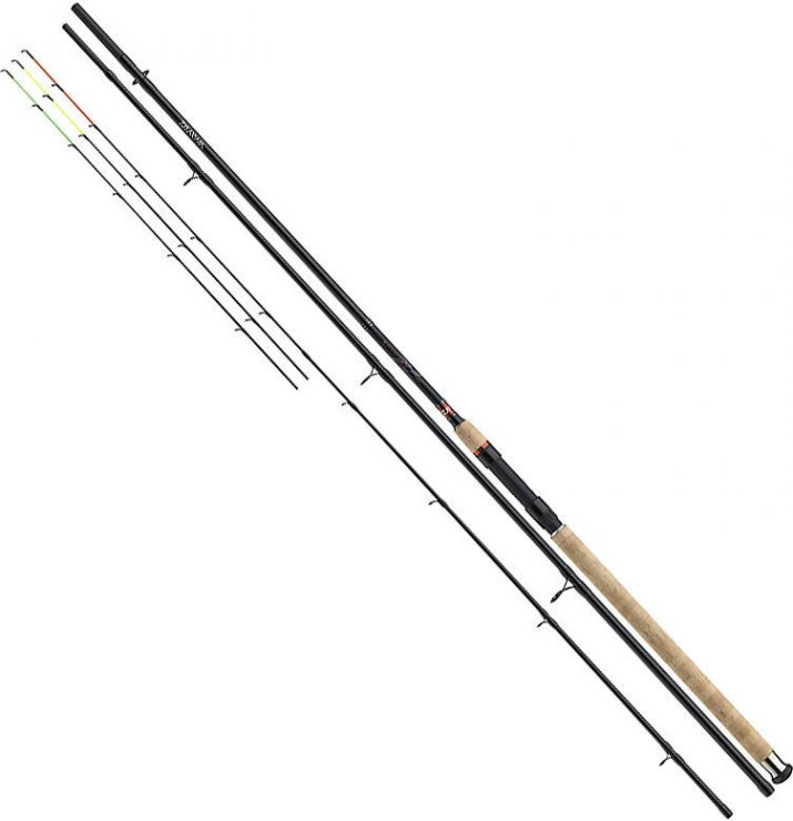 Удилище  штекерное DAIWA Ninja-X Feeder 3.90 m 40-120 g