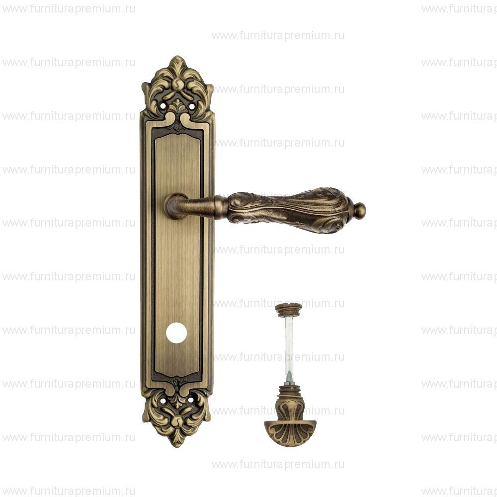 Ручка на планке Venezia Monte Cristo PL96 WC-4