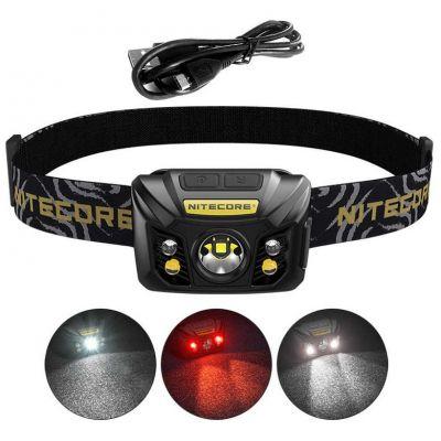 Налобный фонарь Nitecore NU32, 550 Лм (встроенное ЗУ и аккумулятор)