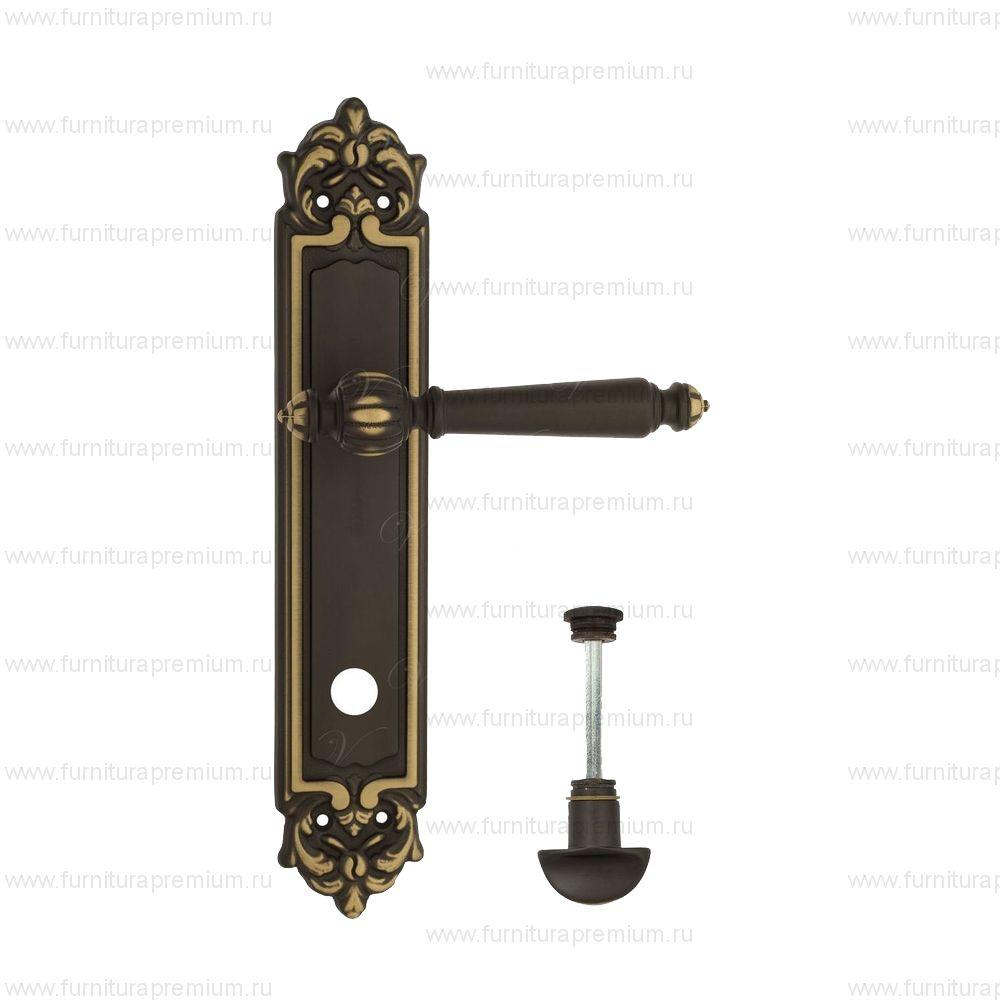 Ручка на планке Venezia Pellestrina PL96 WC-2