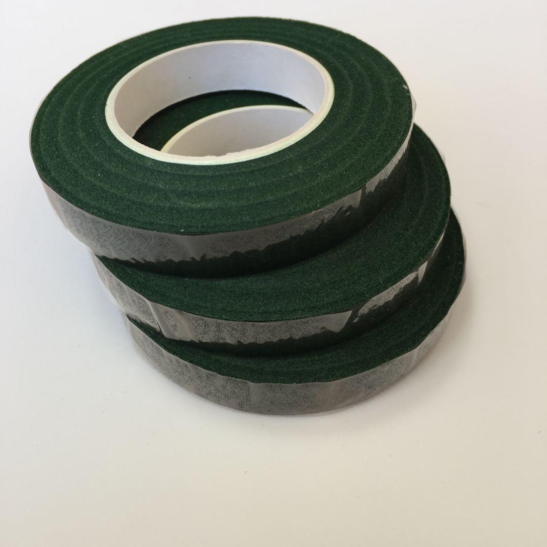 Тейп-лента тёмно-зелёная