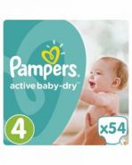 Pampers Active Baby-Dry Junior 11-16kg, 54 ədəd