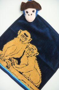 Полотенце детское хлопковое с рисунком (35*35) арт.   203531
