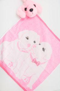 Полотенце детское хлопковое с рисунком (35*35) арт.  203516