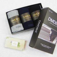 Носки мужские в коробке + МЫЛО в подарок №AF-113