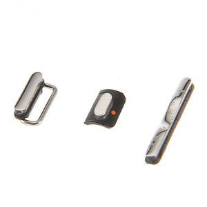 Комплект боковых кнопок Apple iPhone 3G/iPhone 3GS (3 шт.) (black)