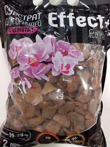 Cубстрат для орхидей с цеолитом Effect+ 19-28 мм EcoLine, 2л