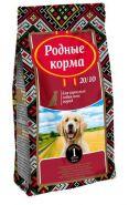 РОДНЫЕ КОРМА сухой корм для взрослых собак всех пород (16.38) кг