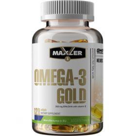 Omega-3 Gold от Maxler (120 гел кап)